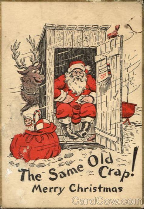 crap marry christmas santa claus