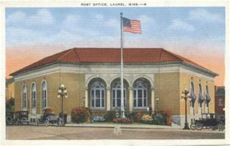 Ms Post Office by Albums Laurel Photos Laurel Ms Post Office 1930s