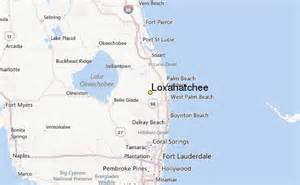 where is loxahatchee florida on a map loxahatchee weather station record historical weather