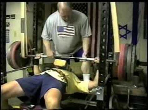 increase bench press by 50 pounds 405 415x2 425x2 bench press raw at 50 years old 165