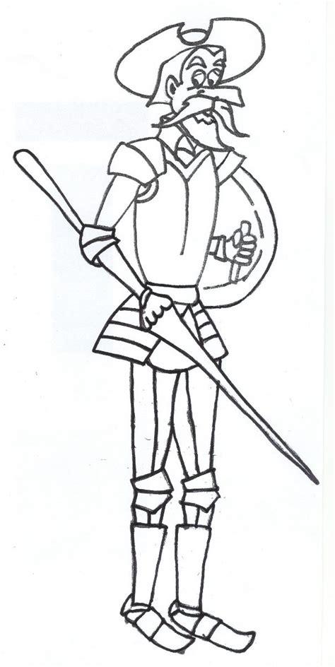 dibujos infantiles para colorear don quijote marcapaginas personajes el quijote buscar con google