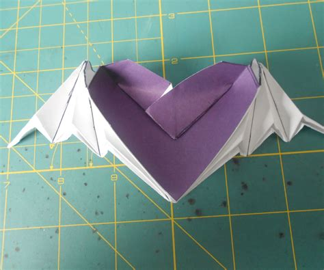 Winged Origami - origami bat winged