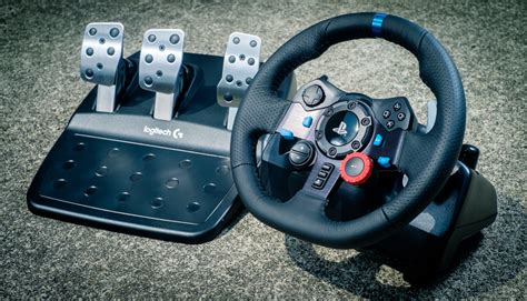 Gaming Setup Simulator by Behind The Wheel Of Logitech S G29 Driving Force Controller