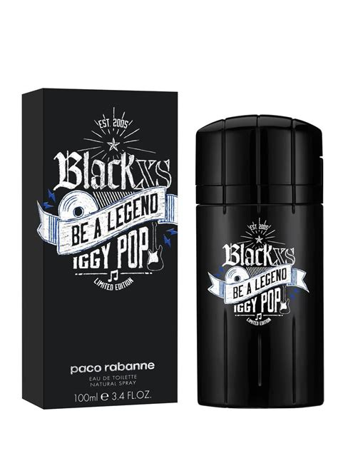 Parfum Black Xs black xs be a legend iggy pop paco rabanne cologne a