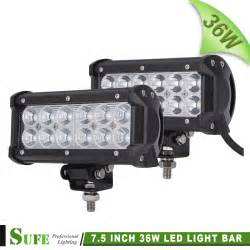 36w Led Light Bar Sufe 2pcs 12pcs 3w 36w Led Light Bar Road Truck Suv 4wd 4x4 Driving Fog Work Light Bar Auto
