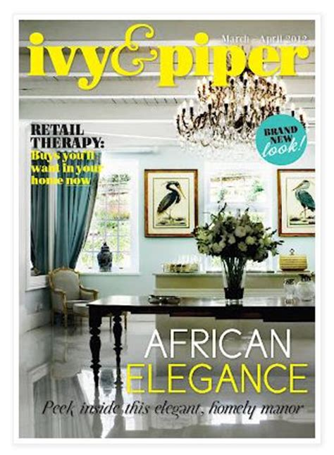 home decoration magazine ivy and piper online magazine march 2012 home decor