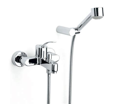 wall mounted bath shower mixer taps roca moai wall mounted bath shower mixer tap with kit 5a0146c00