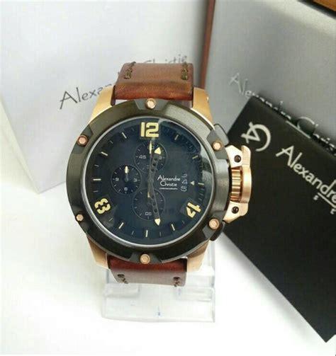 jual jam tangan pria original alexandre christie