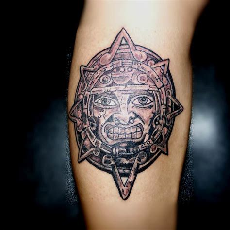 aztec sun tattoo designs 28 ornamental aztec designs ideas design trends