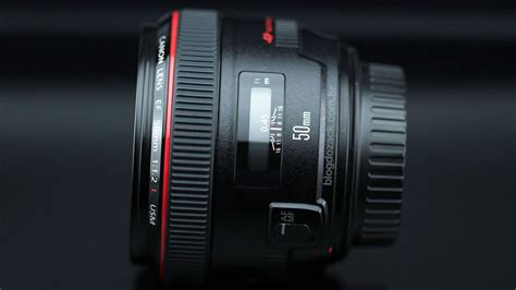 canon ef 50mm f 1 2l usm review