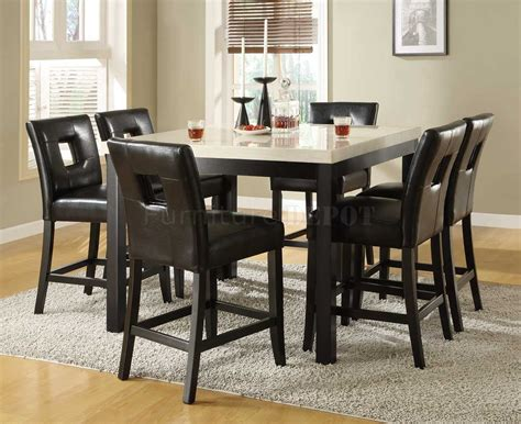 High Dining Room Table Set Counter High Dining Room Sets Alliancemv