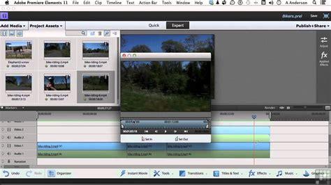 tutorial adobe premiere elements 11 adobe premiere elements 11 tutorial generating a pip
