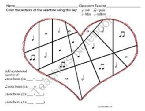 music valentine coloring pages 1000 images about music ed valentines on pinterest