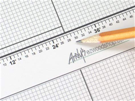 printable graph paper with ruler ez wood project planner design your own wood plans