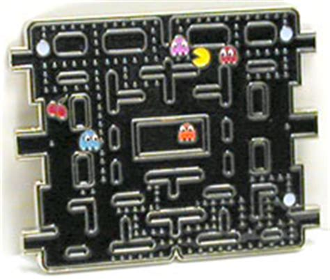 Pacman Belt Buckle And Tie From The Ex Boyfriend Collection by Gadgetmadness Namco Pac Belt Buckle