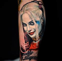 harley quinn from squad best tattoo design ideas