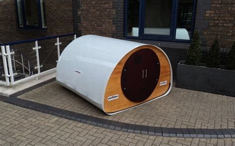sleeping pods flat pack outdoor double pod by podtime homecrux