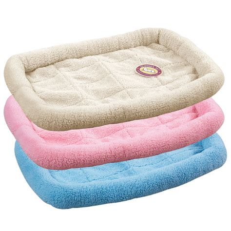 small baby beds slumber pet sherpa crate bed sky blue with same day