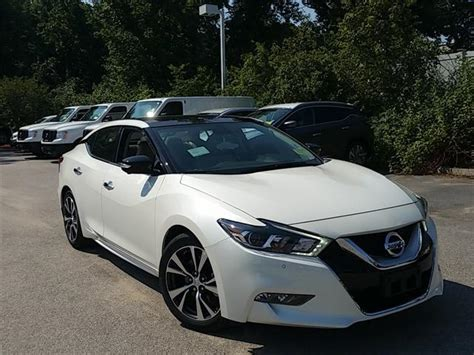 White Nissan Maxima Used Cars In Auburn Mitula Cars