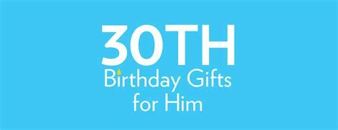 30th Birthday Gifts   Birthday Present Ideas   Find Me A Gift