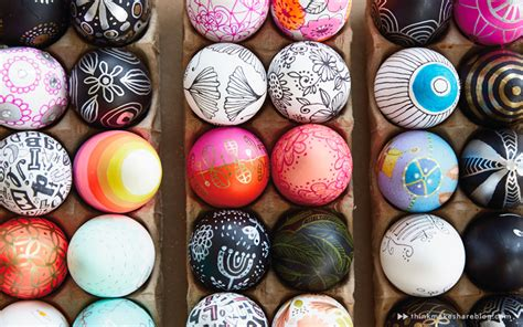 painting easter eggs diy painted easter egg ideas from hallmark artists
