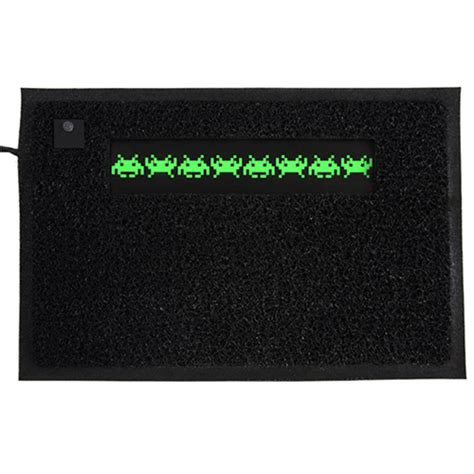 Space Invaders Doormat by Space Invader Doormat Getdigital