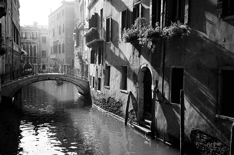 Venice Black venice in photos black and white travel photography