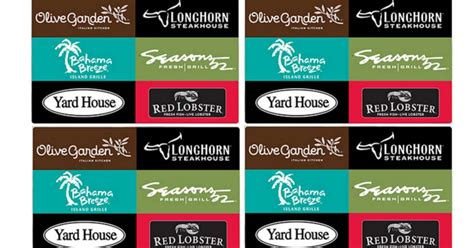 Where Can You Use Longhorn Gift Cards - topcashback free olive garden gift card southern savers