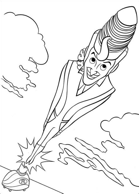 Coloring Page Meet The Robinsons Coloring Pages 4 Meet The Robinsons Coloring Pages