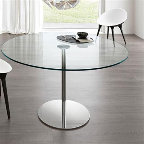 tonelli farnienti alto glass dining table