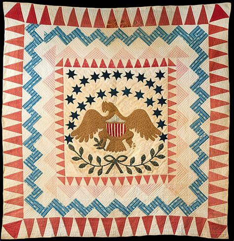 quilt pattern eagle barbara brackman s material culture six eagle quilts