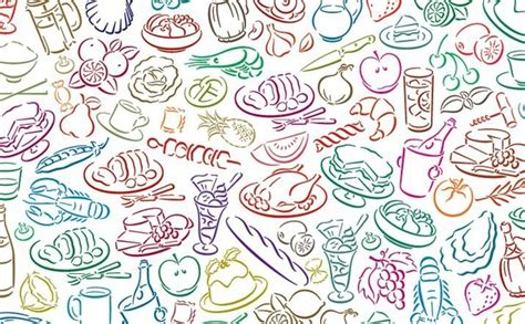Pattern Food Vector | food free vector download 5 285 free vector for
