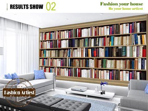 estante de parede estante parede livros papel de parede d u virtual reality
