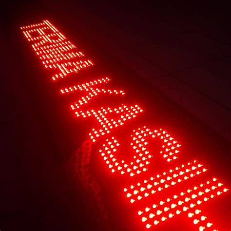 Led Running Text jual led running text di palmerah fumida advertising