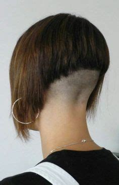 inverted napes angled inverted bob with clipper cut nape inverted bob s