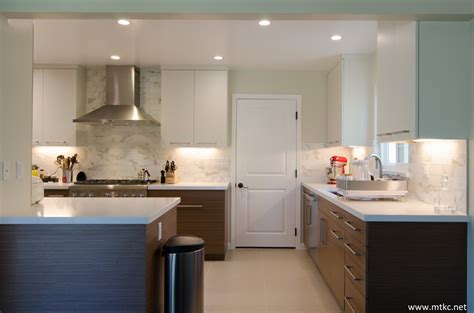 two tone modern kitchen two tone modern kitchen remodel before after mtkc