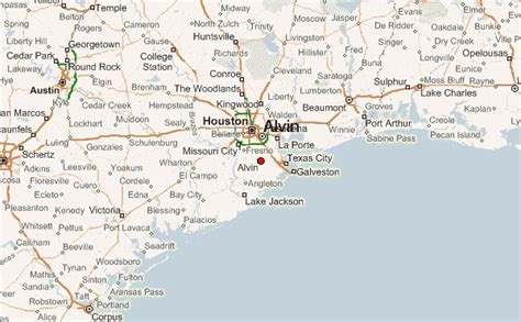 where is alvin texas on the map alvin location guide