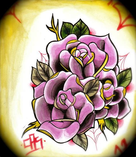 new school rose tattoo design new school rose tattoo related keywords suggestions