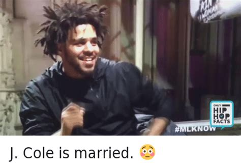 J Cole Memes - hip hop facts now j cole is married facts meme on sizzle