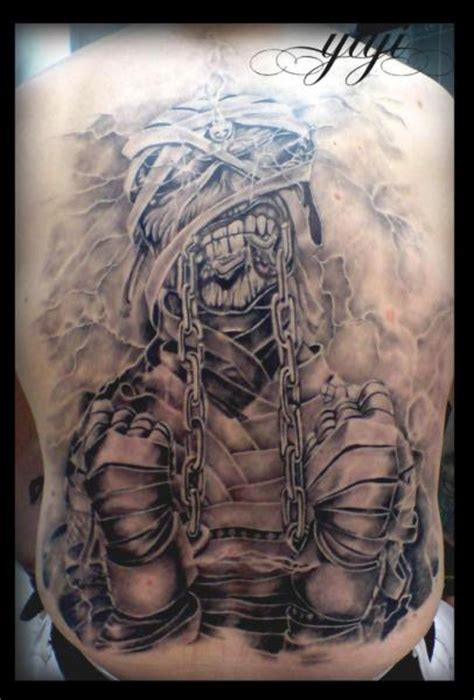 back iron maiden tattoo by inkfierno tattoo