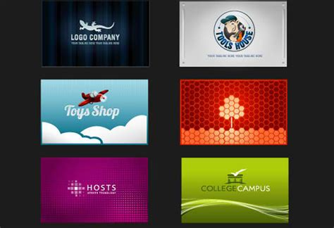 12 business card design templates images free business