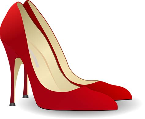 free vector graphic pumps high heeled shoe free image