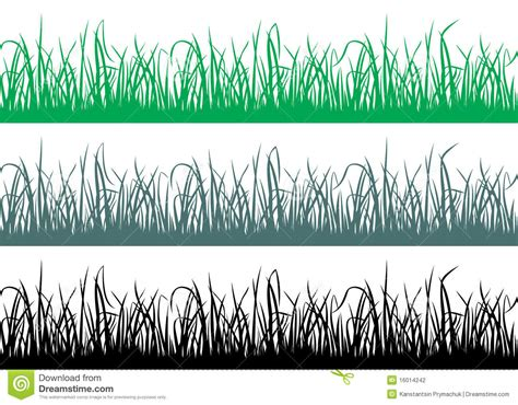pattern grass vector seamless grass pattern stock photography image 16014242