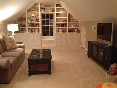 room that a office up stairs bonus rooms cabinets and window on