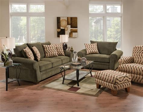 green living room sets forest green living room set living rooms