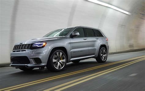 jeep range rover 2018 comparison jeep grand cherokee trackhawk supercharged