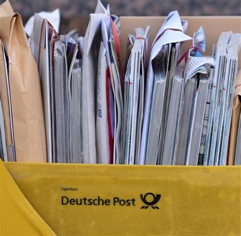 Reklamation Briefzustellung Deutsche Post Post Streik Studimed Fordert Herausgabe Briefen Der Deutschen Post Welt
