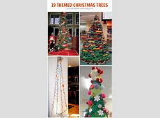 19 Christmas tree themes - C.R.A.F.T. Mom's Best