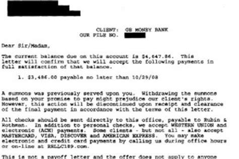 Hardship Letter Settlement Offer Debt Settlement Letter Archives Leave Debt