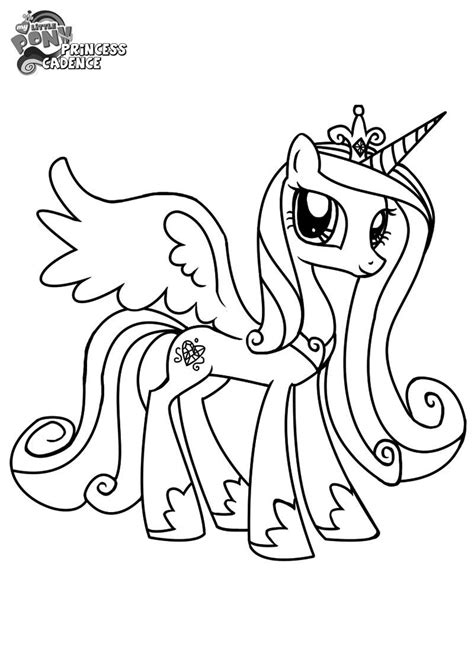 free coloring pages princess cadence http colorings co my little pony coloring pages princess